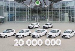 El vehículo 20 millones fabricado por Skoda ha sido un Karoq