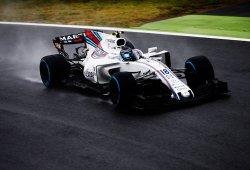 Stroll consigue la primera línea más precoz en la lluvia de Monza