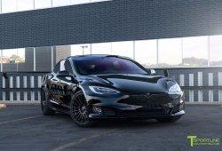 T Sportline desvela el 'Project TS8', un Tesla Model S P100D muy deportivo