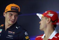 """Vettel y Verstappen pasan página: """"Es parte de la competición, lo olvidas"""""""