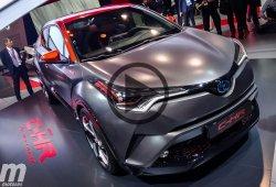 El nuevo Toyota C-HR Hy-Power en vivo desde Frankfurt