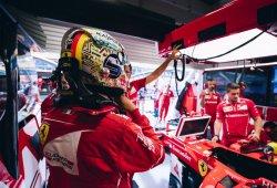 """Viernes """"sin sentido"""" para Vettel y Räikkönen en Singapur"""