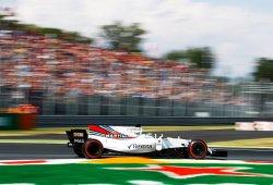 Williams olvida sus penas en las rectas de Monza