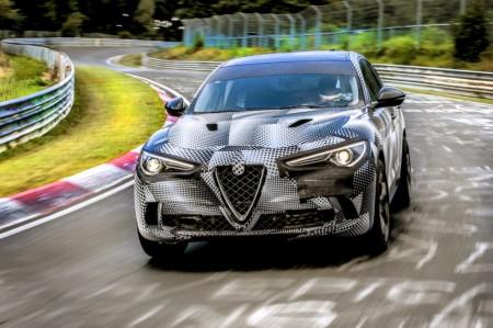 Alfa Romeo Stelvio Quadrifoglio, el SUV más rápido del mundo en Nürburgring