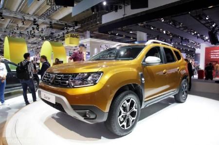 El Dacia Duster encabeza la avalancha de nuevos crossover en Frankfurt 2017
