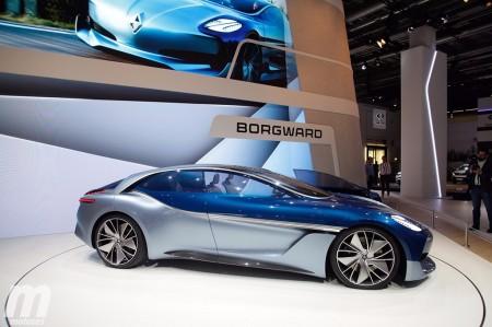 Borgward Isabella Concept: una reinterpretación futurista del clásico modelo