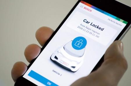 Bosch Perfectly Keyless: convierte el smartphone en una llave para el coche