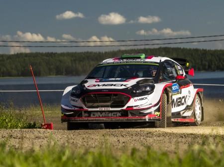 DMACK estrena neumáticos de tierra en el Rally RACC