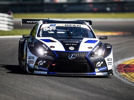 El Lexus RC F GT3 llega a las Blancpain con Albert Costa