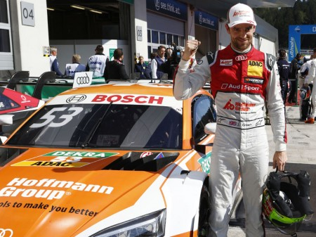 Green se lleva la primera pole del DTM en Red Bull Ring