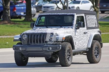 Jeep Wrangler: al desnudo todas las versiones de techo del 2 puertas