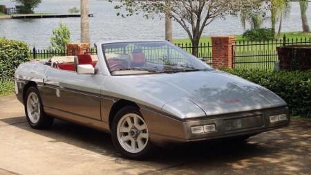 Lotus M90/X100: el último deportivo de Colin Chapman