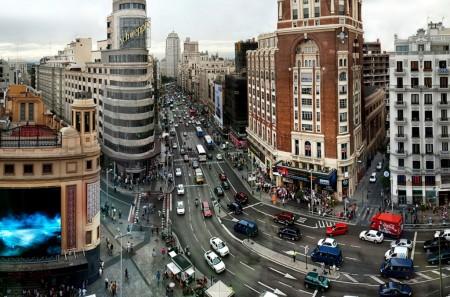 El centro de Madrid será cerrado al tráfico en el primer semestre de 2018