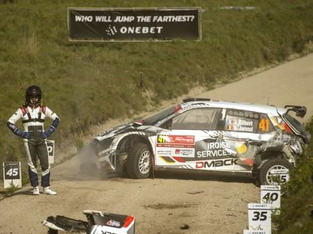 Quentin Gilbert paga el precio de los costos del WRC