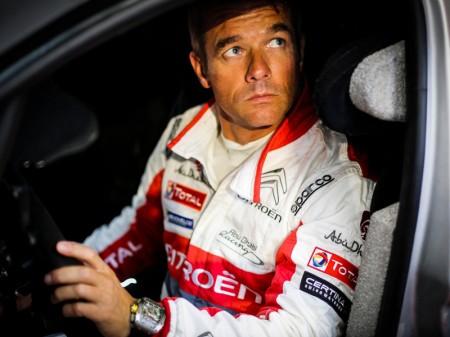 Sébastien Loeb prueba el Citroën C3 WRC sobre grava