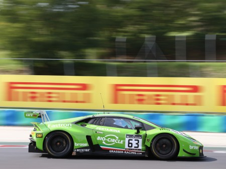 Siete GT3 y trece pilotos van a por la Blancpain Sprint Cup