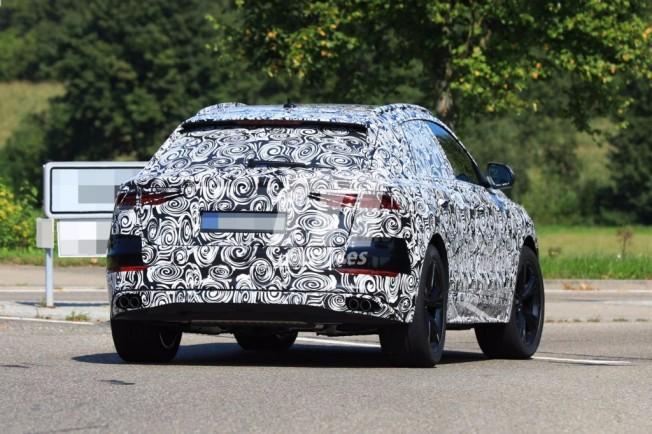 Audi SQ8 2018 - foto espía posterior