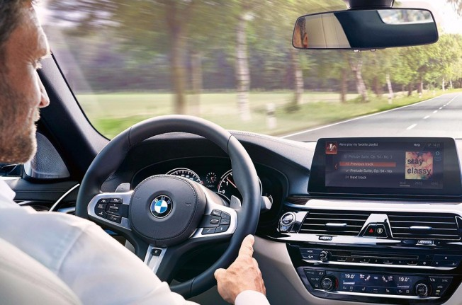 BMW Amazon Alexa