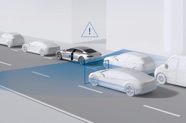 Bosch - alerta de salida del coche