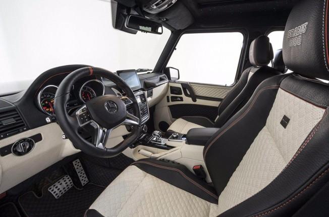Brabus 900 - interior