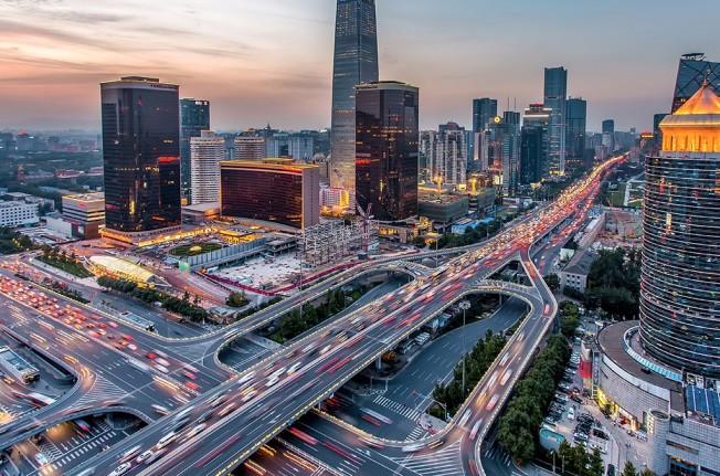 Tráfico en Pekín