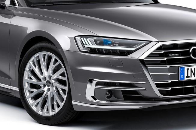 Faros HD Matrix LED del Audi A8