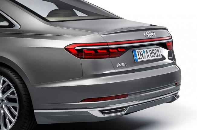 Luces traseras OLED de Audi A8