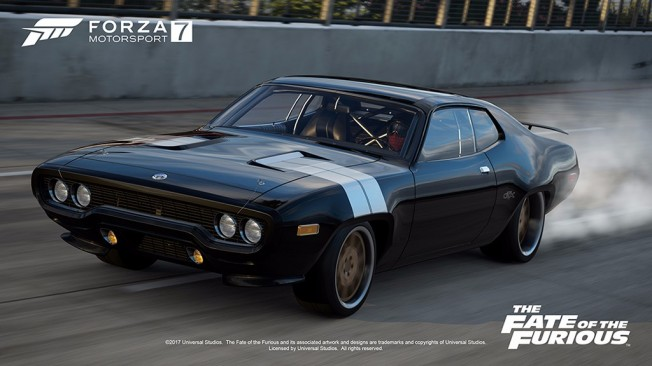 Forza Motorsport 7 The Fate of the Furious Car Pack
