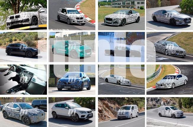Fotos espía de coches - Junio 2017