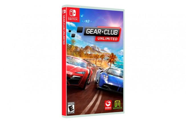 Gear.Club Unlimited - carátula