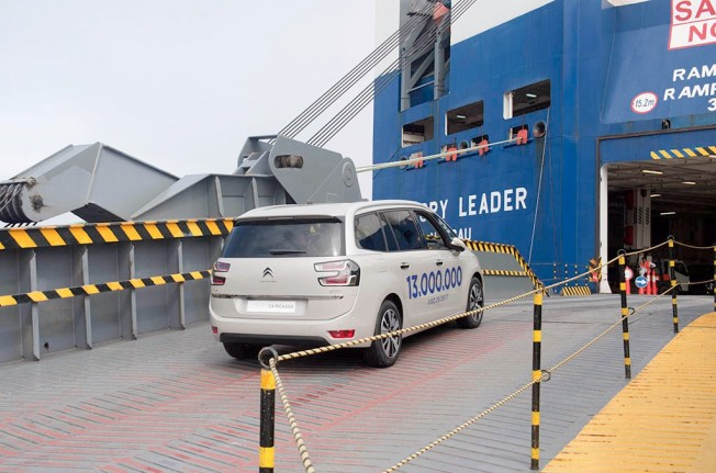 Vehículo 13 millones fabricado por PSA en Vigo