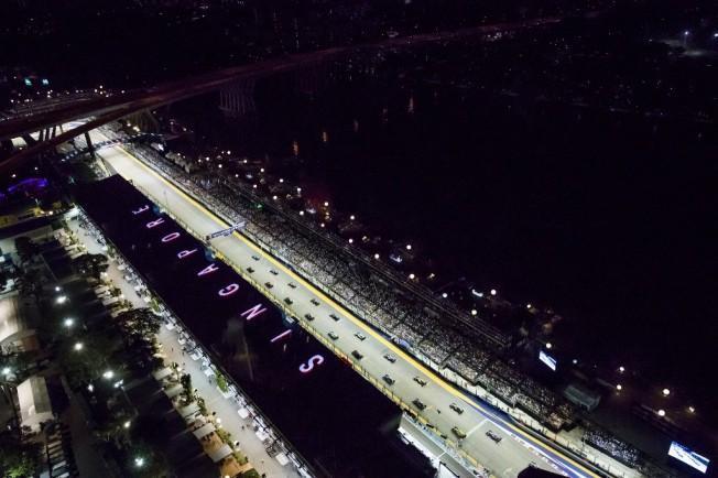 Circuito F1 Singapur : Los horarios del gp de singapur f motor