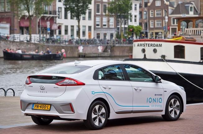 Hyundai carsharing en Amsterdam