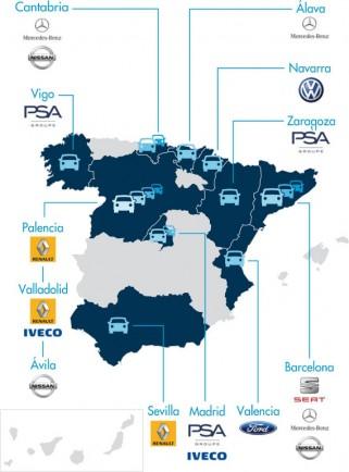 La industria del autom vil en la hipot tica catalu a - Fabricantes de sabanas en espana ...
