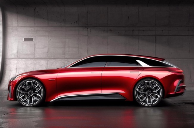Kia Proceed Concept - lateral