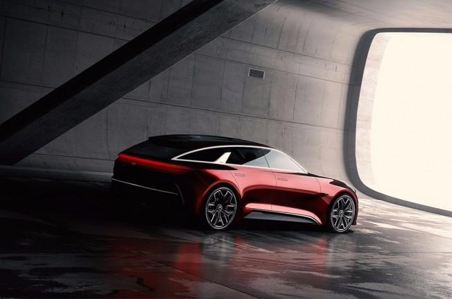 Kia Proceed Concept - posterior