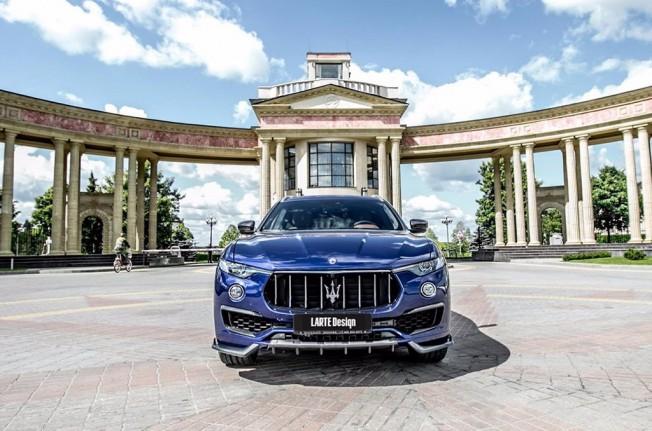 Larte Design Maserati Levante - frontal