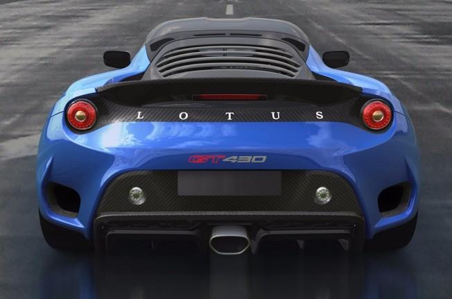 Lotus Evora GT430 Sport 2017 - posterior