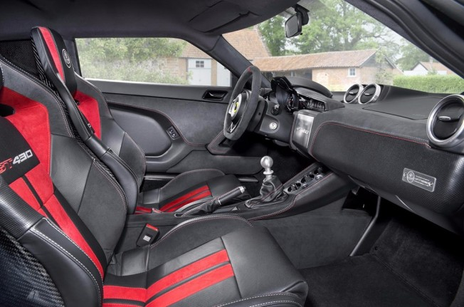 Lotus Evora GT430 Sport 2017 - interior