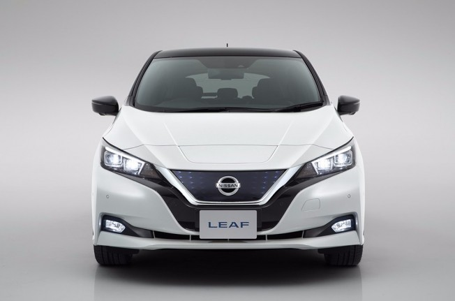 Nissan Leaf 2018 - frontal