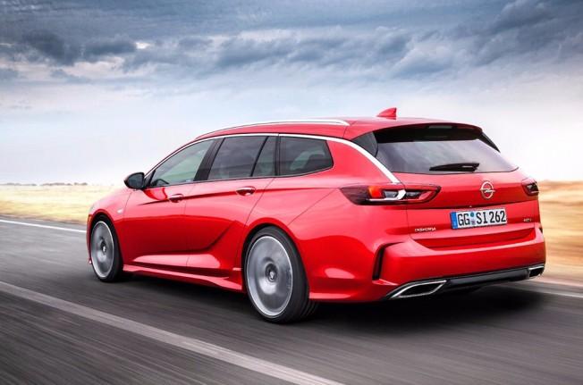 Opel Insignia Sports Tourer GSi 2018 - posterior