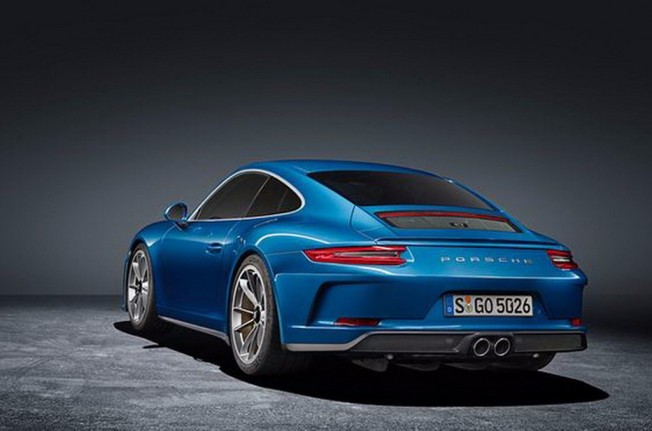 Porsche 911 GT3 Touring Package - foto filtrada