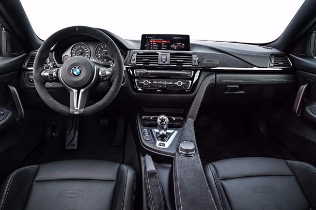 BMW M4 CS - interior