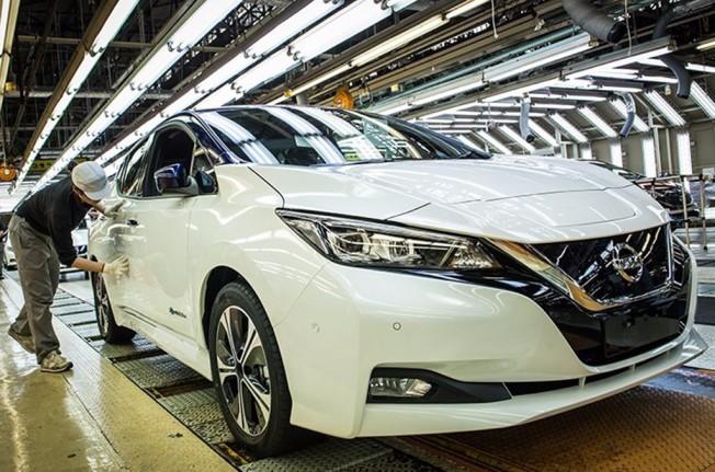 Nissan Leaf 2018 - producción en Japón