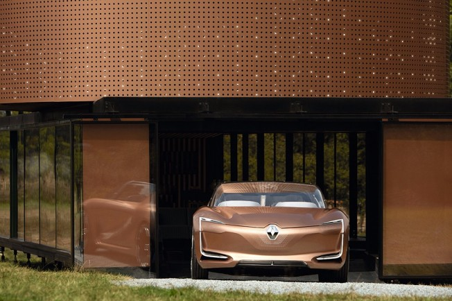 Renault Symbioz Concept - frontal