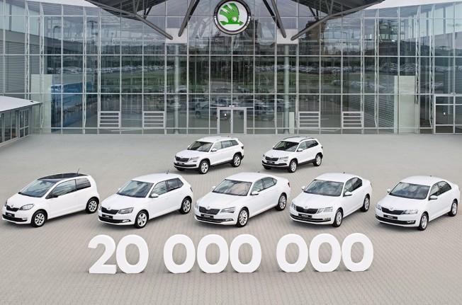 Skoda fabrica el vehículo 20 millones