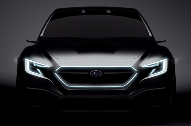 Subaru Viziv Performance Concept - teaser frontal