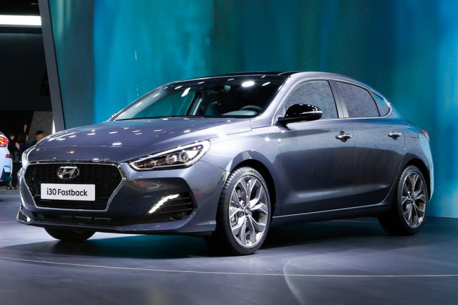 Hyundai i30 Fastback - Salón de Frankfurt 2017