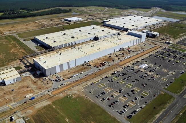 Fábrica de Volvo en Carolina del Sur