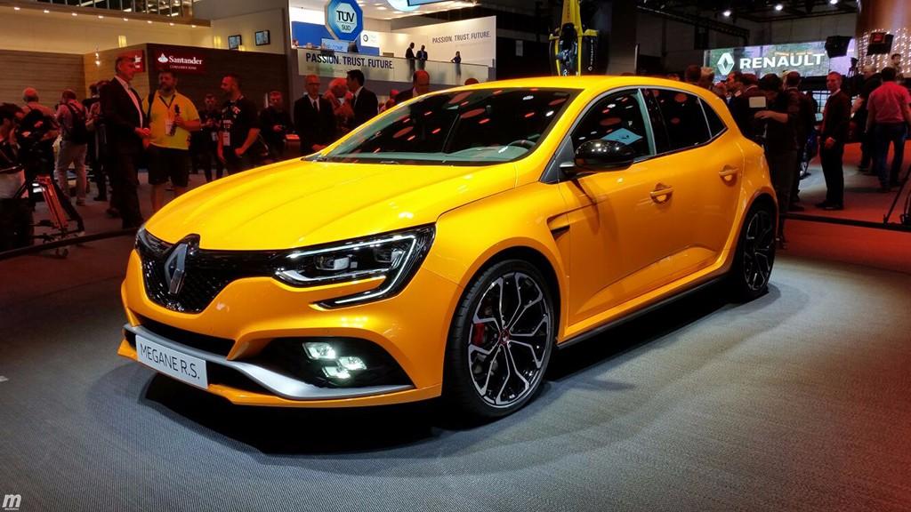 El nuevo Renault Megane RS asalta el Salón de Frankfurt
